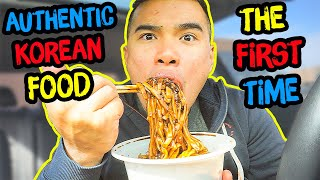 Download First Time Trying AUTHENTIC KOREAN FOOD | Mukbang | QT Video