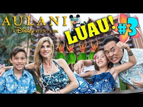 KA WA'A!!! Luau at the Disney Aulani Resort! + Animation & Ukulele Class! #3