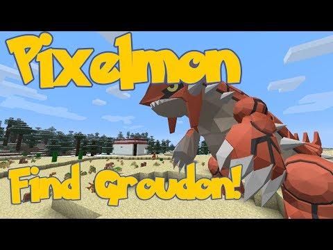 Easiest Way to Find Groudon! - Pixelmon 3.0.2