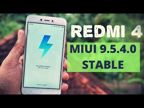 Redmi 4 Miui 9.5.4.0 Stable Update | What's New - Full features Overview & Download Link