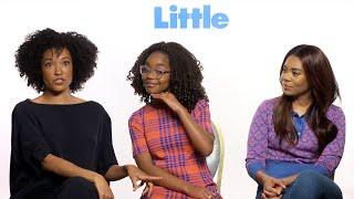 Download 'Little'   Unscripted   Regina Hall, Marsai Martin, Tina Gordon Video