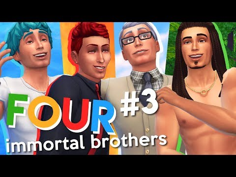 The Sims 4 | Four Immortal Brothers | Ep 3 | FINDING A COWPLANT!