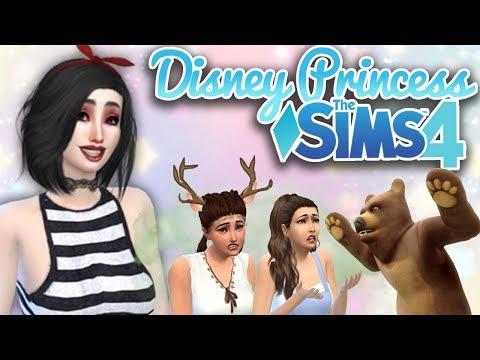 Creepy Camping Trip Ep 16 Sims 4 Disney Princess Challenge Daikhlo