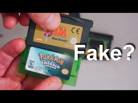 How to Spot a Fake Nintendo Game Boy Advance Cartridge