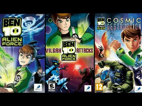 Top 4 Ben 10 High Graphics Games for Android 2018