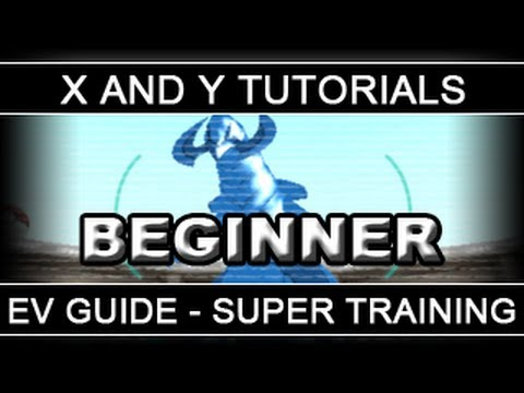 Pokemon X and Y Tutorials 10: EV Training Guide - Part 1: Super Training [Beginners]