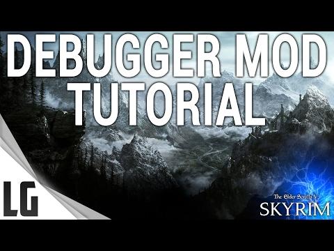 Debugger Console Mod Tutorial & Showcase Skyrim Special Edition