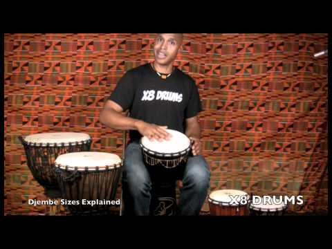 Which Size Djembe is Right for Me? - X8 DRUMS