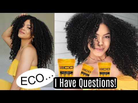Wash & GO or Wash & NO!? Ft. NEW EcoStyle GOLD Gel