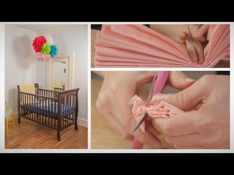 How To Make an Easy and Dramatic Baby Mobile