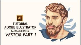Tutorial Membuat Vektor Dengan Adobe Illustrator #part 1