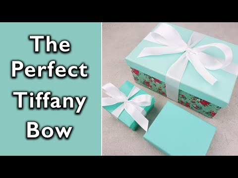 How to tie the Perfect Tiffany and Co bow