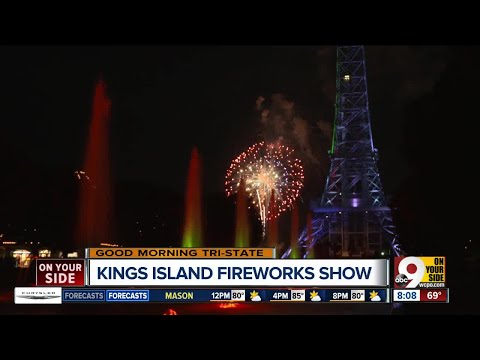Kings Island fireworks shows multiply in size for Fourth of July