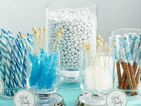 Winter wonderland party favors
