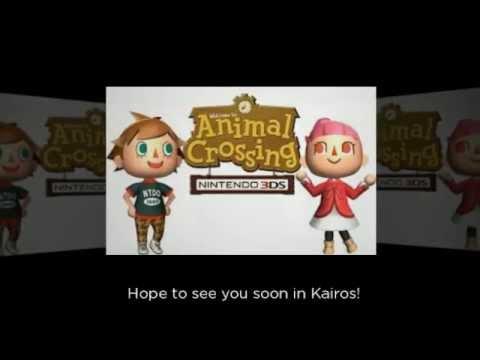 Animal Crossing New Leaf Friend Code Exchange Video