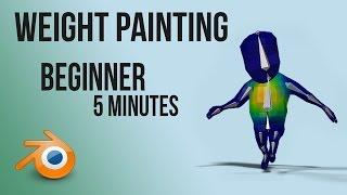 weight painting/skinning | tutorial | Blender | Quick