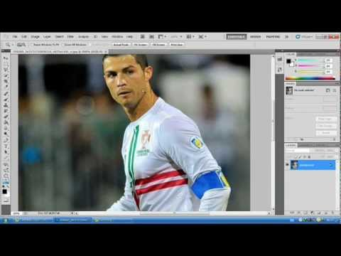 How to render in photoshop cs5