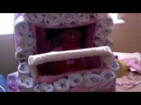 How to Make a Diaper Stroller Cake