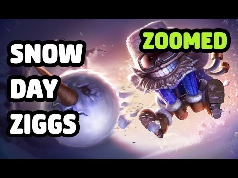 SNOW DAY ZIGGS SKIN ZOOMED SPOTLIGHT