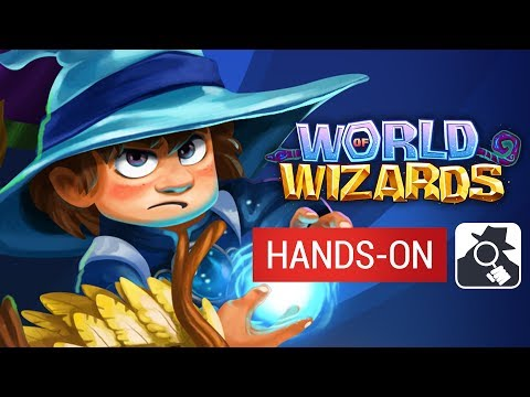 WORLD OF WIZARDS (Android) | Hands-On