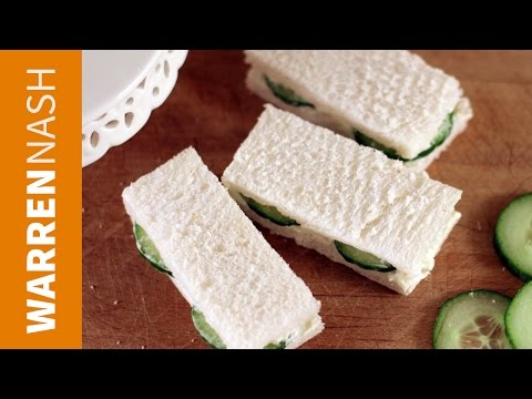 Cucumber Sandwich Recipe - with special sauce - Recipes by Warren Nash