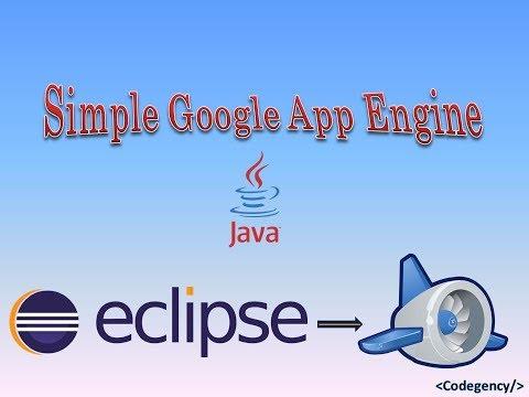 Simple Google App Engine Application In Java [New Version]