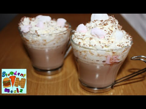 Student Mealz - How to make HOT CHOCOLATE