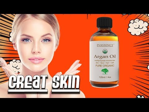 How to Get Great Skin like a Celebrity!  Evassence Organic Oil Reviews