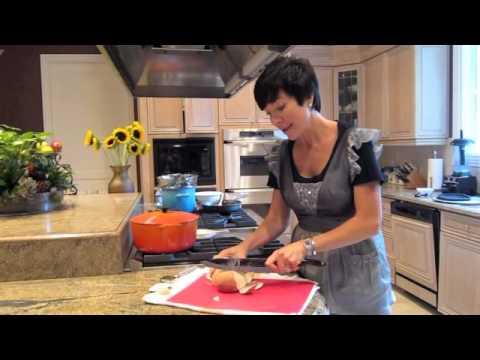 How to Carve a Jicama