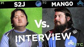 Super Homies Face Off: mang0 vs S2J Interview at Genesis 6 | HTC Esports