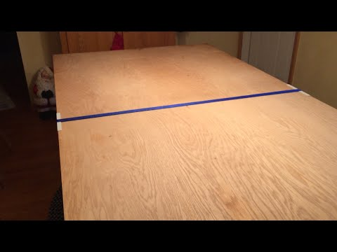 Make a Large Dining Room Table - on the cheap
