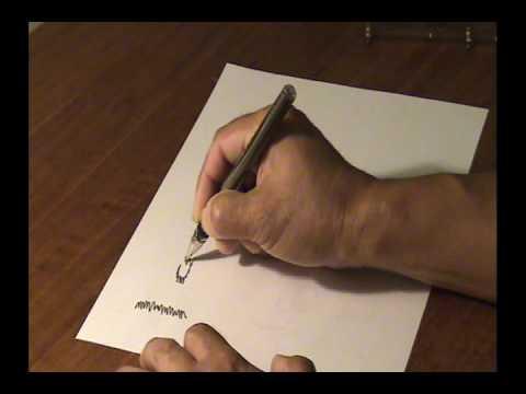 a pen for tremor patients