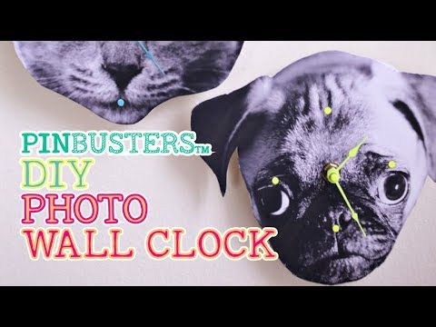 DIY Photo Wall Clock // DOES THIS WORK?