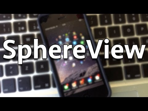 SphereView-iOS8-NEW AND AMAZING SPRINGBOARD LAUNCHER