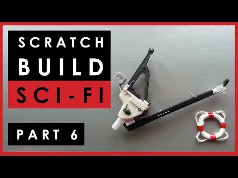 Scratch building 1/35 scale science fiction model - Part 6