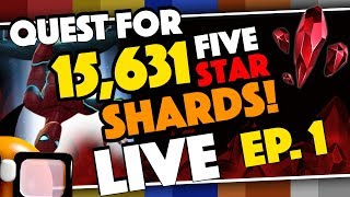 Quest For 15631 Five Star Shards For Stark Spidey Live