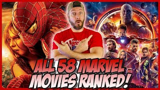 Download All 58 Marvel Movies Ranked Worst to Best! (Supercut Edition) Video
