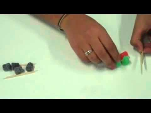 How to build a bridge using toothpicks and gum drops