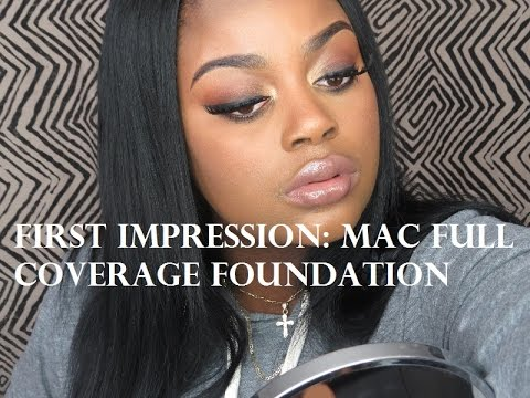 First impression: Mac Full coverage foundation demo