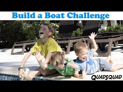 Build a Boat Challenge - STEM Activity for Elementary Students