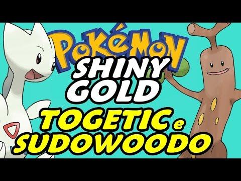 Pokémon Shiny Gold (Detonado - Parte 7) - Sudowoodo, Surf e Togetic