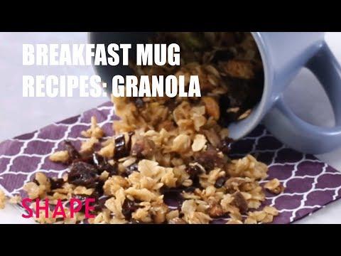 Breakfast Mug Recipes Granola