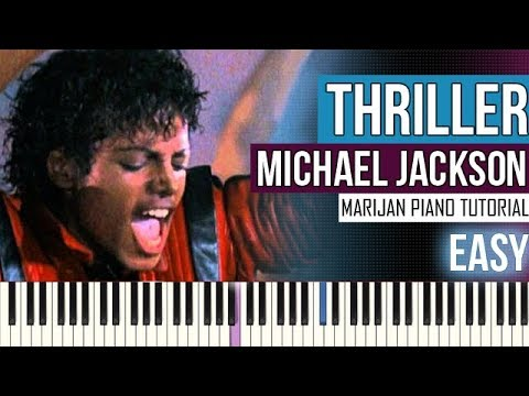 How To Play: Michael Jackson - Thriller | Piano Tutorial EASY + Sheets