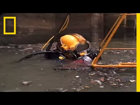 Sewer Diving   National Geographic