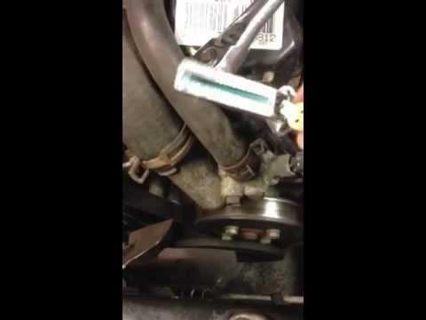 Drive belt tension Jeep Cherokee 1999