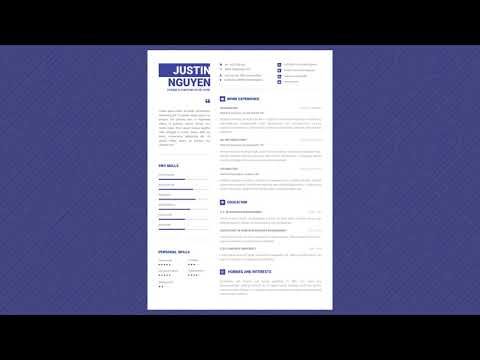 Free Professional Resume Template - Minimalist Pro