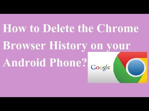 How to Delete the Chrome Browser History on your Android Phone [hindi/urdu]