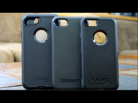 Otterbox Defender vs Commuter vs Symmetry - iPhone 7 Case Comparison