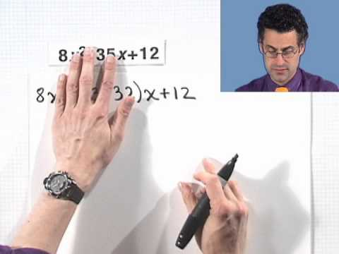 Factoring Trinomials Using the Product-and-Sum Method