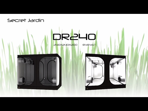 How to set up Secret Jardin grow tent DR240 | Product Tutorial